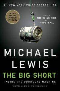 The cover of The Big Short by Michael Lewis.