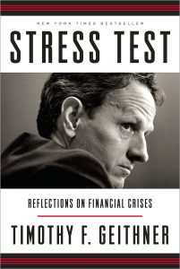 The cover of Stress Test by Timothy Geithner.